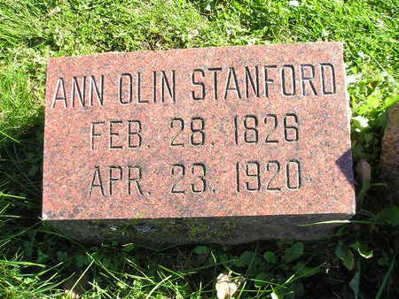 STANFORD, ANN OLIN - Bremer County, Iowa | ANN OLIN STANFORD