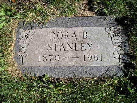 STANLEY, DORA B - Bremer County, Iowa | DORA B STANLEY