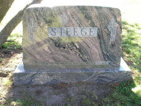 STEEGE, FAMILY - Bremer County, Iowa | FAMILY STEEGE