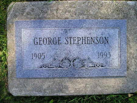 STEPHENSON, GEORGE - Bremer County, Iowa | GEORGE STEPHENSON