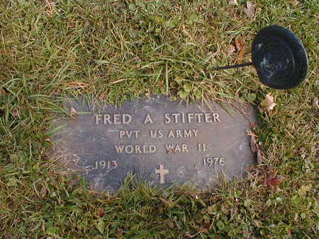 STIFTER, FRED A - Bremer County, Iowa | FRED A STIFTER