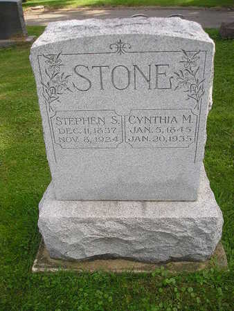 STONE, CYNTHIA M - Bremer County, Iowa | CYNTHIA M STONE