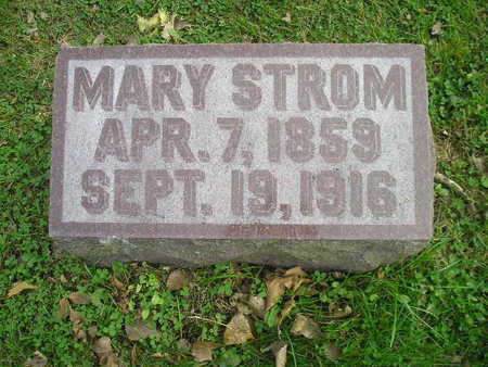 STROM, MARY - Bremer County, Iowa | MARY STROM