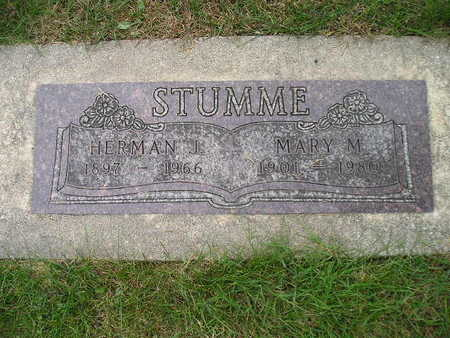 STUMME, MARY M - Bremer County, Iowa | MARY M STUMME