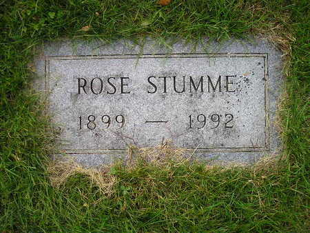 STUMME, ROSE - Bremer County, Iowa | ROSE STUMME