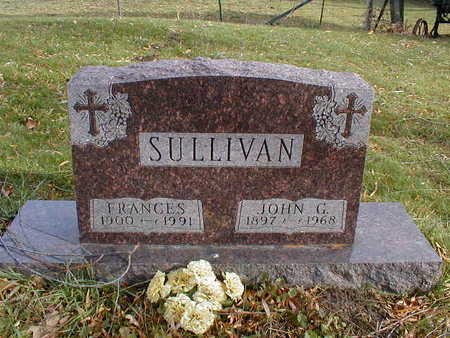 SULLIVAN, FRANCES - Bremer County, Iowa | FRANCES SULLIVAN
