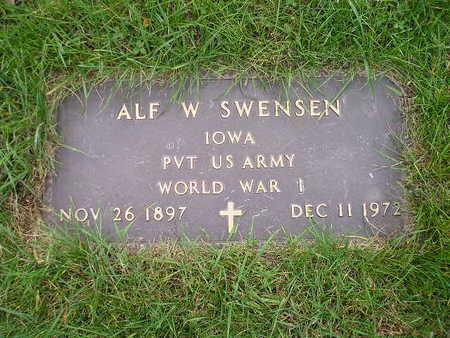 SWENSEN, ALF W - Bremer County, Iowa | ALF W SWENSEN