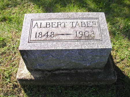 TABER, ALBERT - Bremer County, Iowa | ALBERT TABER