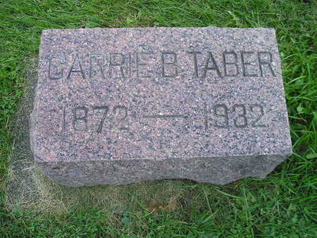 TABER, CARRIE B - Bremer County, Iowa | CARRIE B TABER