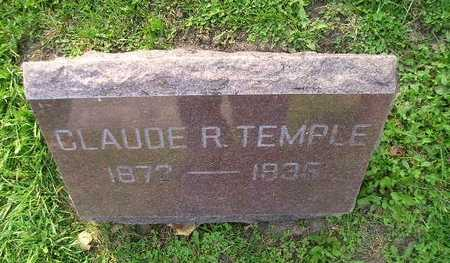 TEMPLE, CLAUDE R - Bremer County, Iowa | CLAUDE R TEMPLE