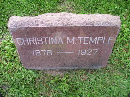 TEMPLE, CHRISTINA M - Bremer County, Iowa | CHRISTINA M TEMPLE