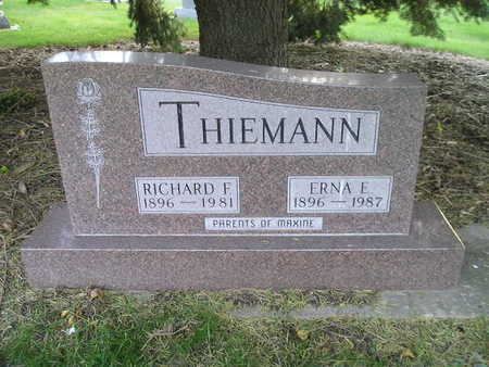 THIEMANN, RICHARD F - Bremer County, Iowa | RICHARD F THIEMANN
