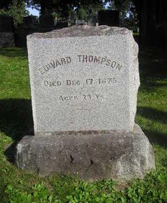 THOMPSON, EDWARD - Bremer County, Iowa | EDWARD THOMPSON