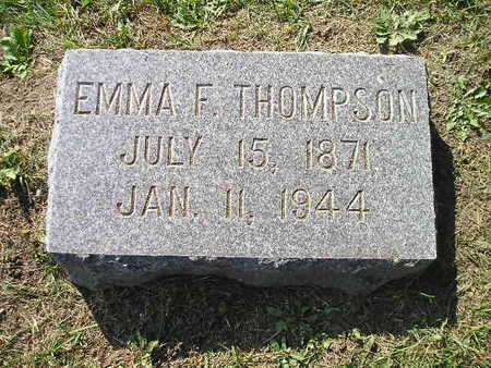 THOMPSON, EMMA F - Bremer County, Iowa | EMMA F THOMPSON