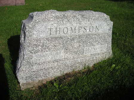 BURR THOMPSON, MARY - Bremer County, Iowa | MARY BURR THOMPSON
