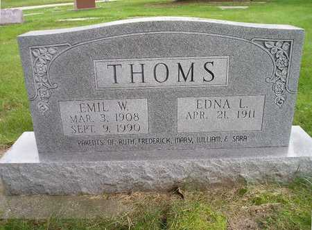 THOMS, EMIL W - Bremer County, Iowa | EMIL W THOMS