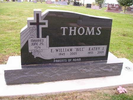 THOMS, E WILLIAM