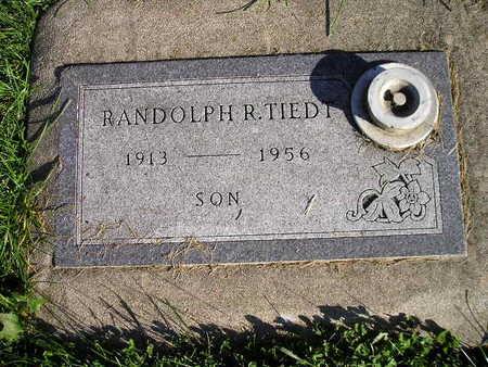 TIEDT, RANDOLPH R - Bremer County, Iowa | RANDOLPH R TIEDT