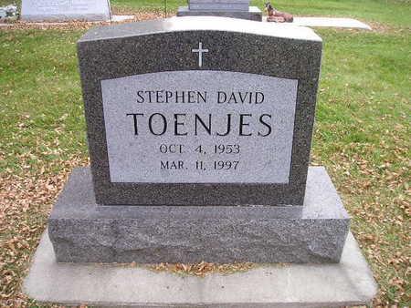 TOENJES, STEPHEN DAVID - Bremer County, Iowa | STEPHEN DAVID TOENJES