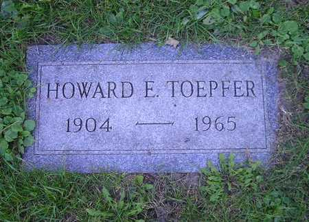 TOEPFER, HOWARD F - Bremer County, Iowa | HOWARD F TOEPFER