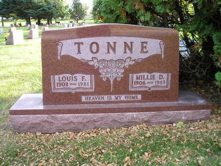 TONNE, LOUIS F - Bremer County, Iowa | LOUIS F TONNE