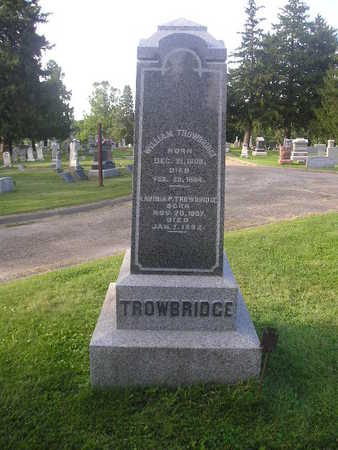 TROWBRIDGE, WILLIAM - Bremer County, Iowa | WILLIAM TROWBRIDGE