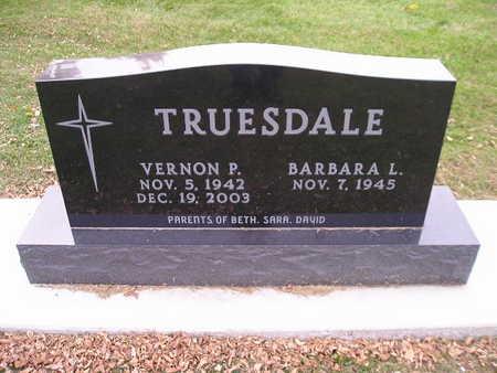 TRUESDALE, VERNON P - Bremer County, Iowa | VERNON P TRUESDALE