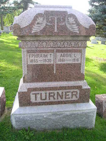 TURNER, ADDIE L - Bremer County, Iowa | ADDIE L TURNER