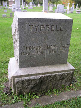 TYRRELL, MARY JANE - Bremer County, Iowa | MARY JANE TYRRELL