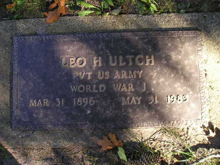 ULTCH, LEO H - Bremer County, Iowa | LEO H ULTCH