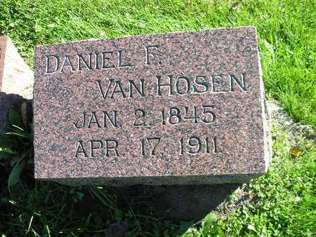 VAN HOSEN, DANIEL F - Bremer County, Iowa | DANIEL F VAN HOSEN