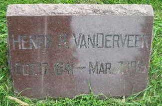 VANDERVEER, HENRY R - Bremer County, Iowa | HENRY R VANDERVEER