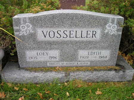 VOSSELLER, EDITH - Bremer County, Iowa | EDITH VOSSELLER