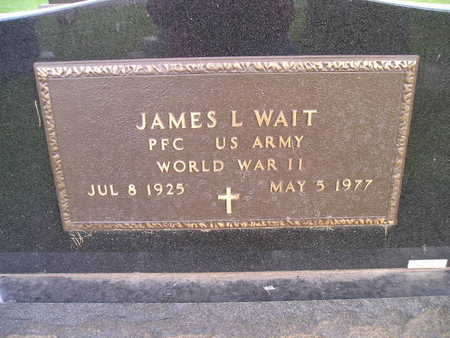 WAIT, JAMES L - Bremer County, Iowa | JAMES L WAIT