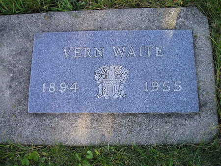 WAITE, VERN - Bremer County, Iowa | VERN WAITE