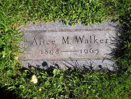 WALKER, ALICE M - Bremer County, Iowa | ALICE M WALKER
