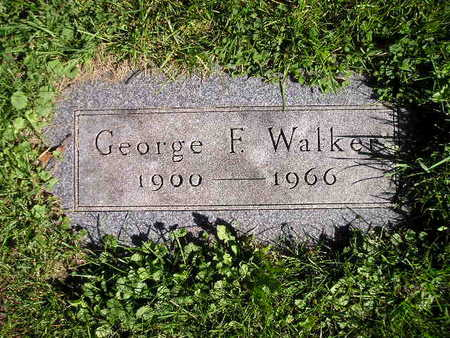 WALKER, GEORGE F - Bremer County, Iowa | GEORGE F WALKER