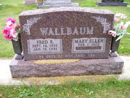 WALLBAUM, MARY ELLEN - Bremer County, Iowa | MARY ELLEN WALLBAUM