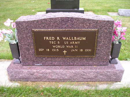 WALLBAUM, FRED R - Bremer County, Iowa | FRED R WALLBAUM