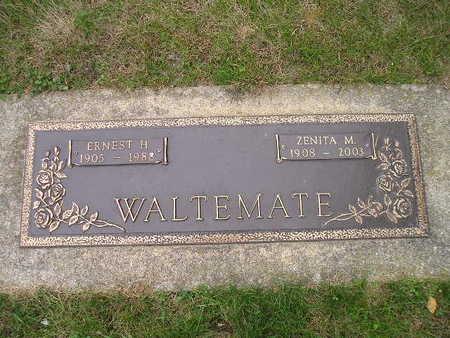 WALTEMATE, ERNEST H - Bremer County, Iowa | ERNEST H WALTEMATE