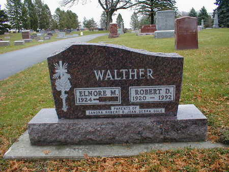 WALTHER, ELNORE M - Bremer County, Iowa | ELNORE M WALTHER