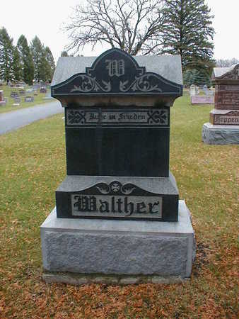WALTHER, FAMILY - Bremer County, Iowa   FAMILY WALTHER