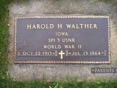 WALTHER, HAROLD H - Bremer County, Iowa | HAROLD H WALTHER