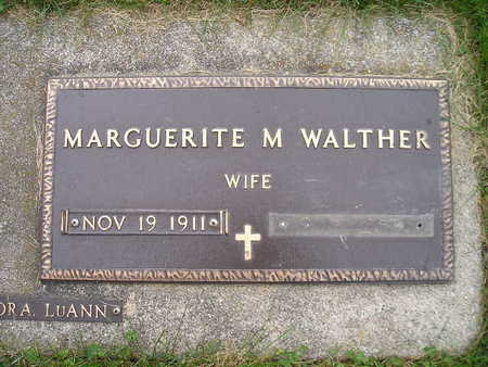 WALTHER, MARGUERITE M - Bremer County, Iowa | MARGUERITE M WALTHER