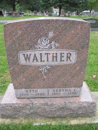 WALTHER, BERTHA - Bremer County, Iowa | BERTHA WALTHER