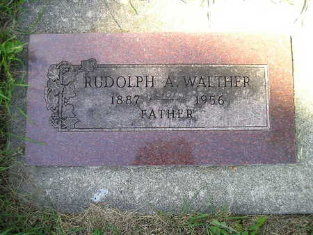 WALTHER, RUDOLPH A - Bremer County, Iowa | RUDOLPH A WALTHER