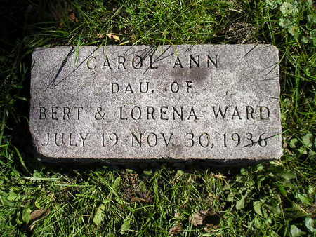 WARD, CAROL ANN - Bremer County, Iowa | CAROL ANN WARD