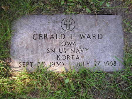 WARD, GERALD L - Bremer County, Iowa | GERALD L WARD