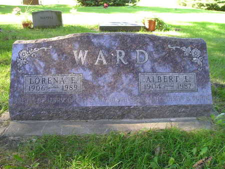 WARD, LORENA E - Bremer County, Iowa | LORENA E WARD