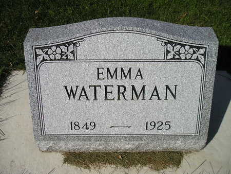 WATERMAN, EMMA - Bremer County, Iowa | EMMA WATERMAN